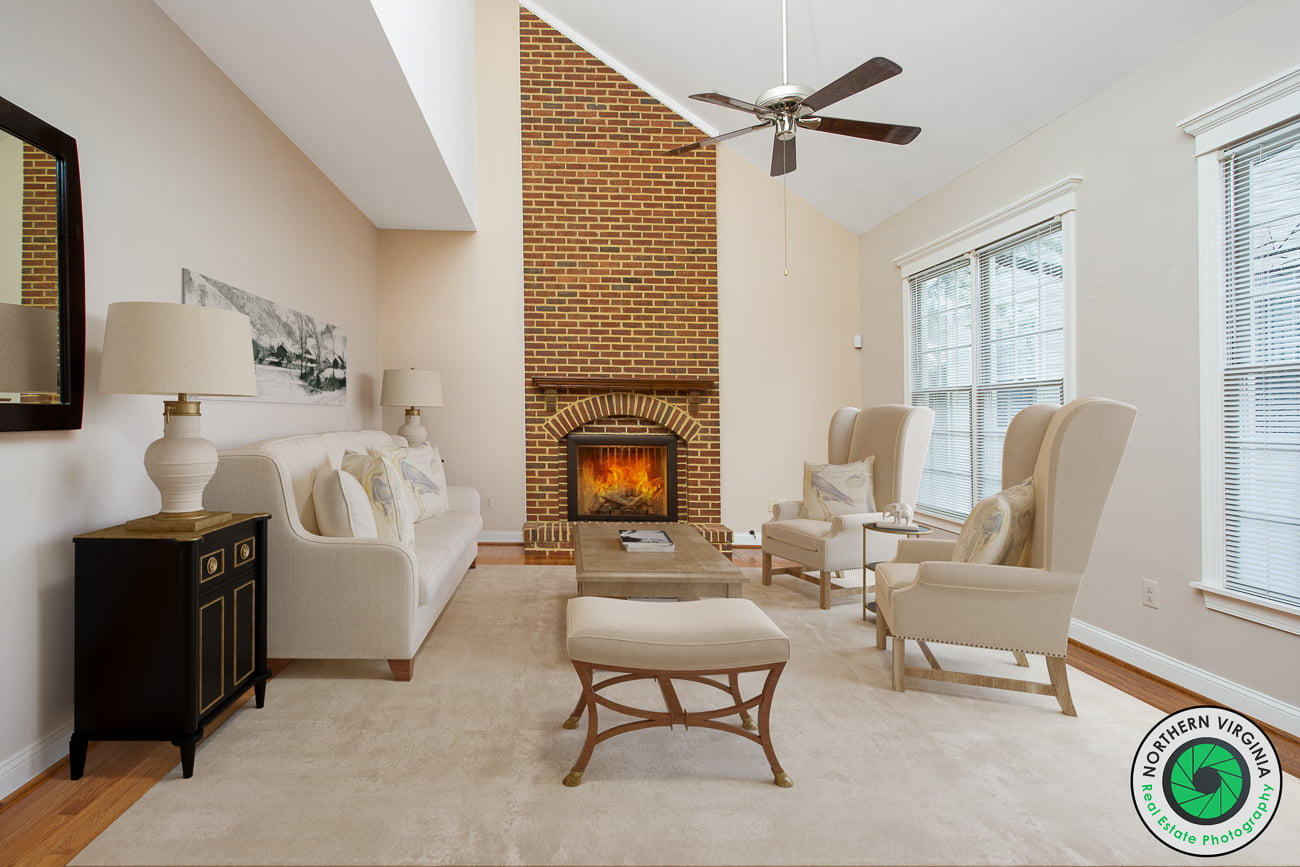 Virtual Staging for vacant properties