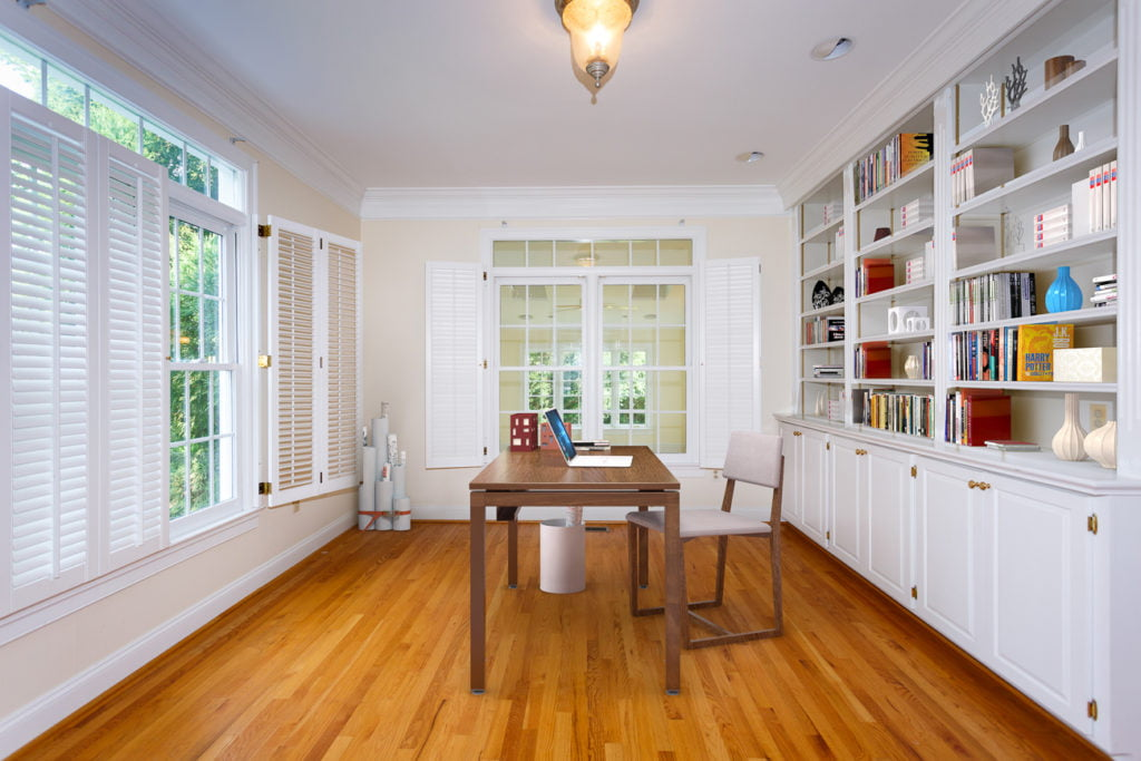 Office - After - Virtual Staging - Northern Virginia Real Estate Photography