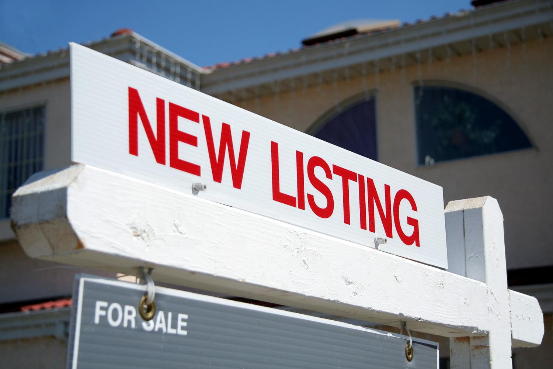 Realtors new listing sign